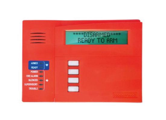 Alarmas de seguridad Teclado para Alarma Alfanumérico de 2 Lineas
